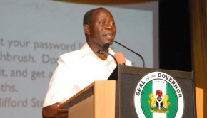 Oshiomhole Describes Igbinedion As Thief, PDP As Armed Robber