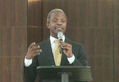 Start Thinking Of Leading Nigeria Now, Osinbajo Urges Youths