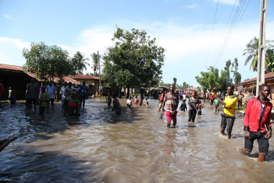Residents Of Abuja Community, Ravaged By Flood, Count Losses, As Minister Visits Them
