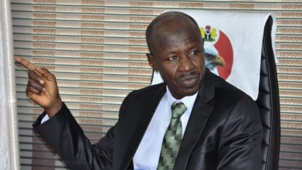 EFCC Boss, Ibrahim Magu, Promoted To Commissioner Of Police