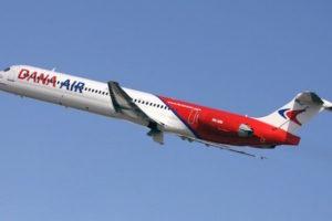 Dana Air Aircraft Collides With Bird Midair, Aborts Trip In Lagos
