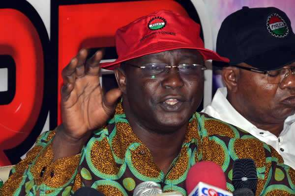 NLC President Blames Health Minister For Prolonged Health Workers' Strike