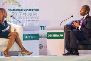 We're Rebuilding Nigeria's Battered Economy, Osinbajo Tells CNN In Interview