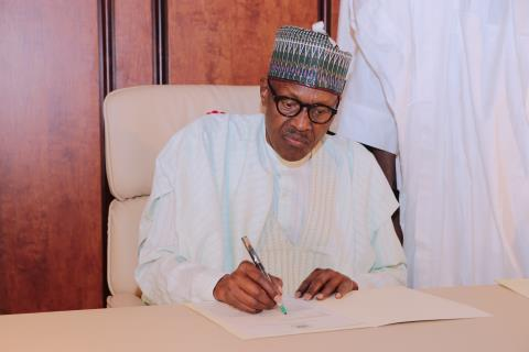 Buhari Returns, Writes National Assembly Of His Resumption