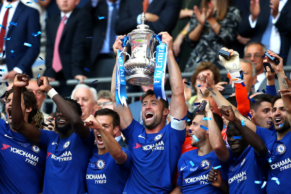Chelsea Lifts FA Cup, Beats Manchester 1 - 0