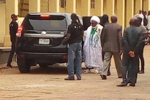 Shiite Leader, El-Zakzaky Being Led To Court In Kaduna