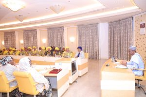 Buhari Hosts Wives Of 36 Governors In Aso Rock