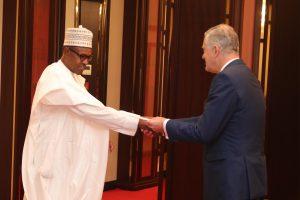 Buhari Welcomes Lebanese Ambassador To Nigeria