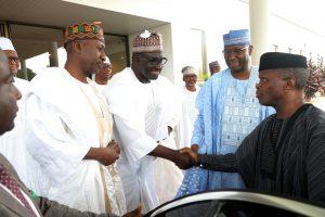 Buhari's Men At Sarki Abba's Daughter Wedding