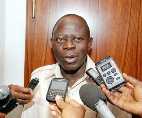Nobody Pushed Out Gov Ortom - Oshiomhole