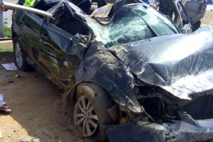 Miraculously Escaping From Car Somersault In Abuja