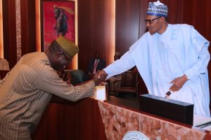 Fayemi To Buhari: Thank You Sir, For Opportunity To Serve