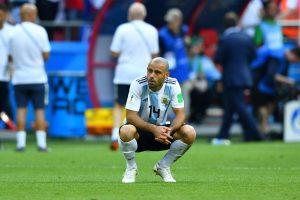 Argentina Midfielder, Javier Mascherano Quits