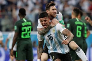 Argentina Sends Nigeria Out Of World Cup With 2-1 Win