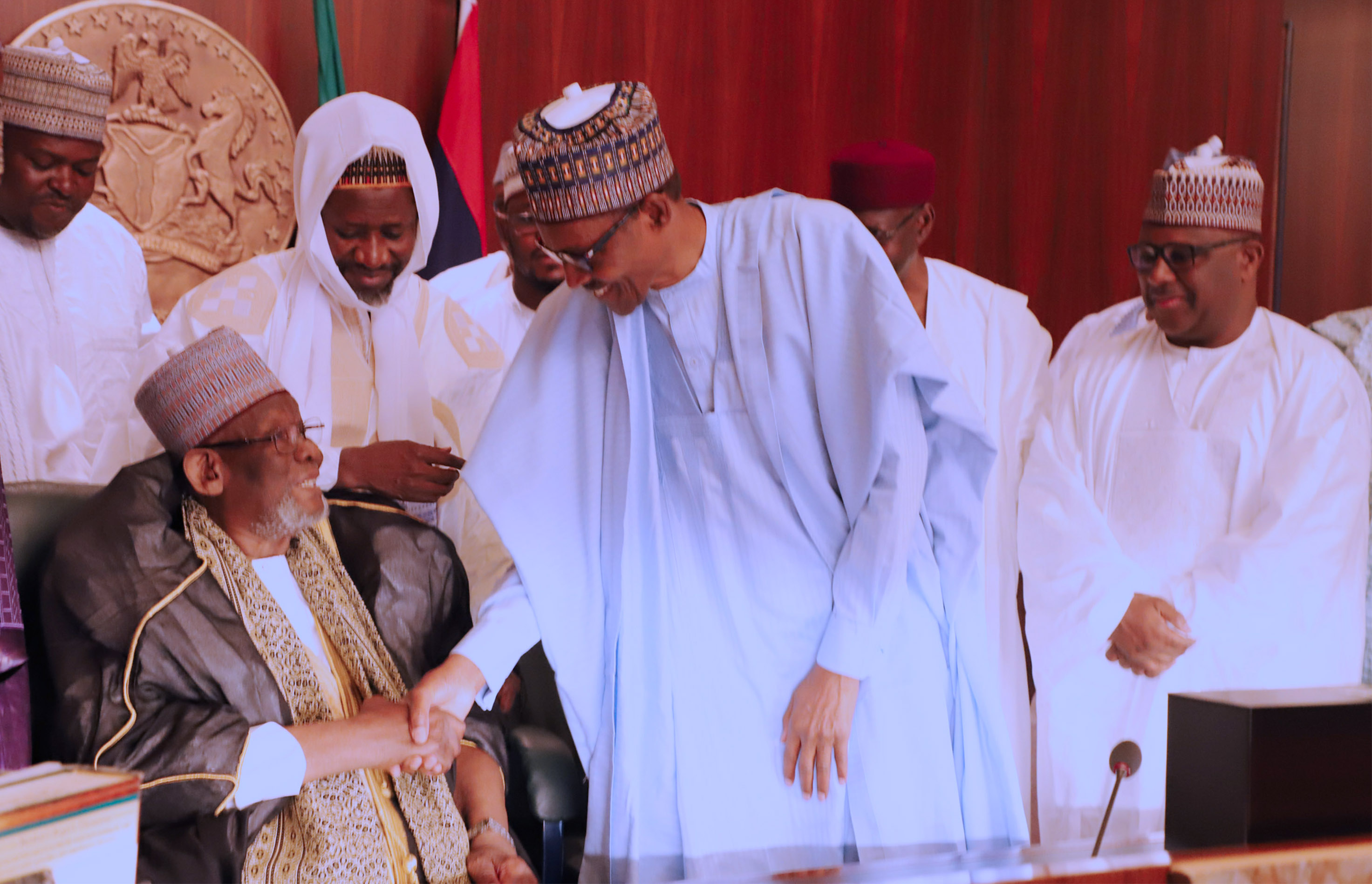 Leader Of Islamic Sect To Buhari: Over 40 Million Of Our Members Praying For You