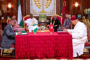 Nigeria, Morocco Sign Regional Gas Pipeline, Chemical Plant, Agric Training Agreements