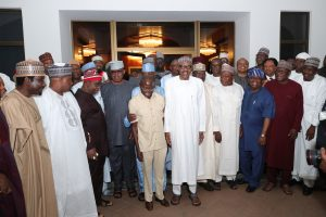 We're Loyal Sir, APC Senators Visit Buhari