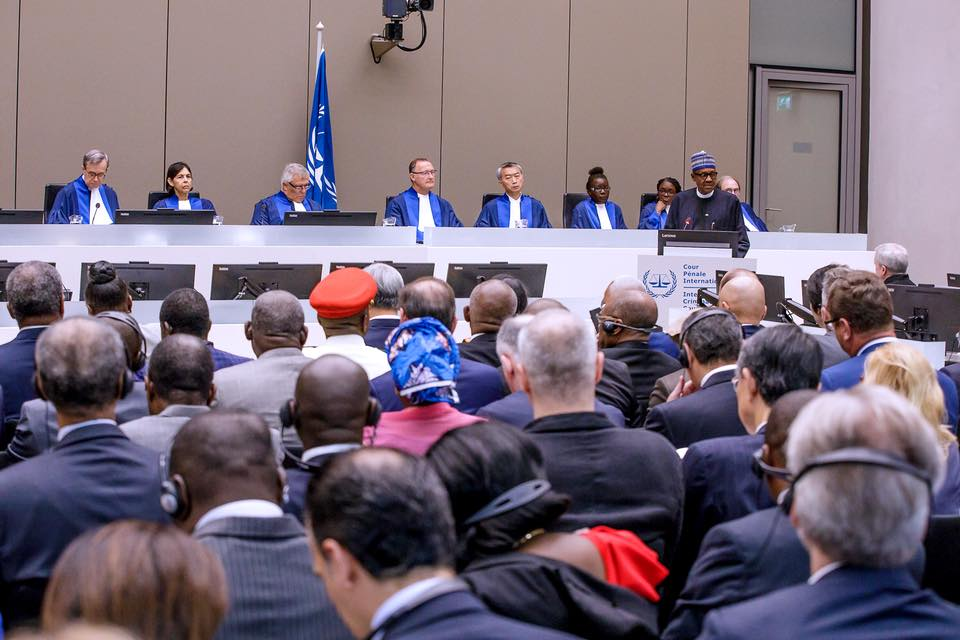 President Buhari At ICC: Proud To Be A Nigerian, By Femi Adesina