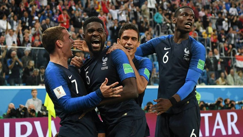 France Lifts World Cup, Beats Croatia 4-2