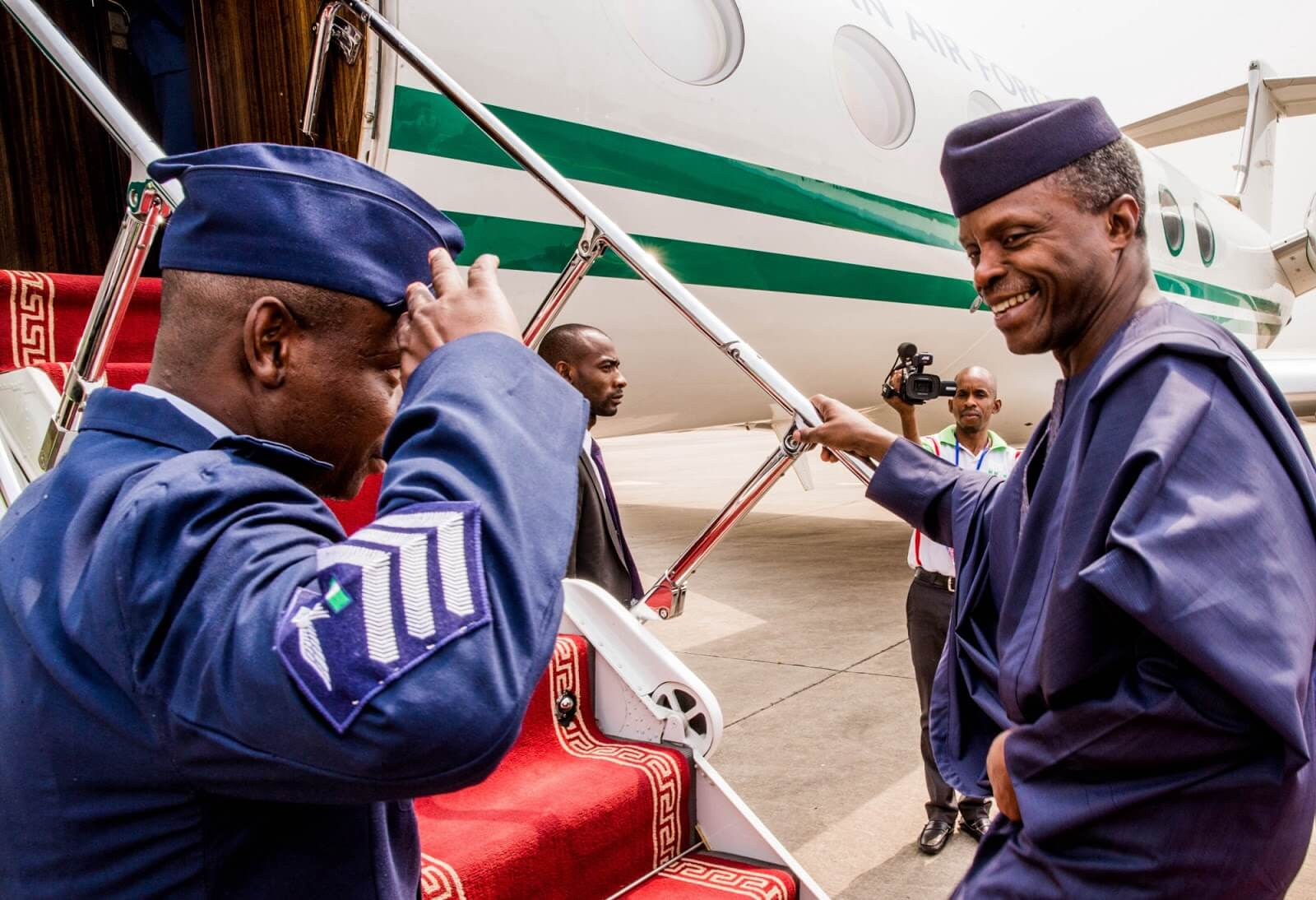 Osinbajo Goes To Dubai; To Address Business Community