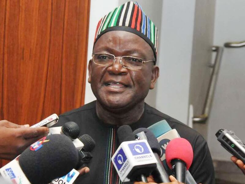 I'm Left Without Political Party Now, Gov Ortom Complains