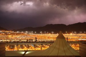 Heavy Rains Greet Hajj Pilgrims Ahead Of Day Of Devotion At Holy Site Of Arafat